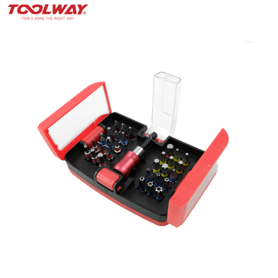 31pc Bit set ideal for universal screwdriving jobs