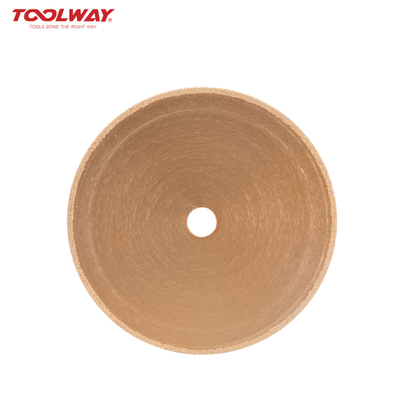 Brazing diamond stone saw blade
