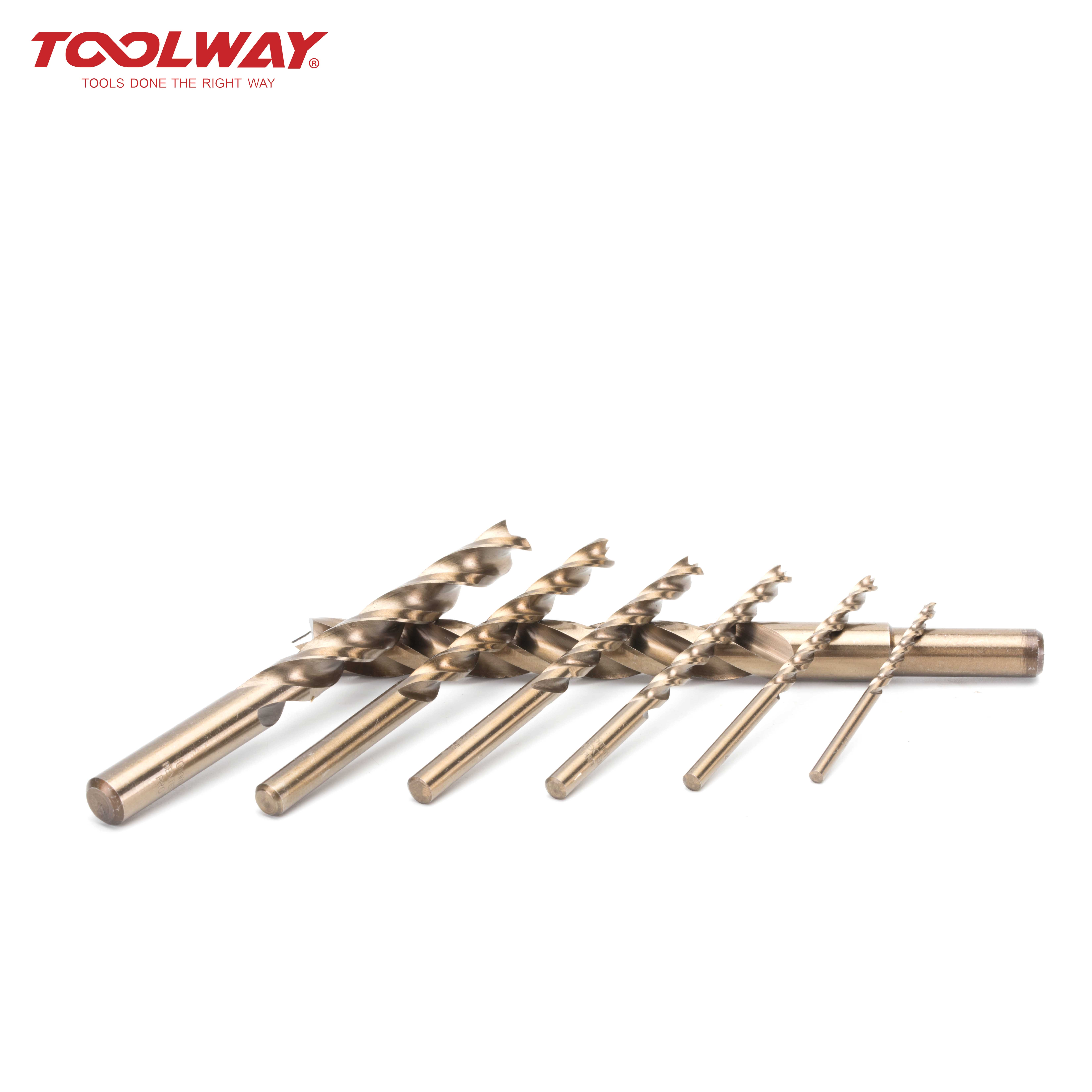 Bearing steel three groove four point drill